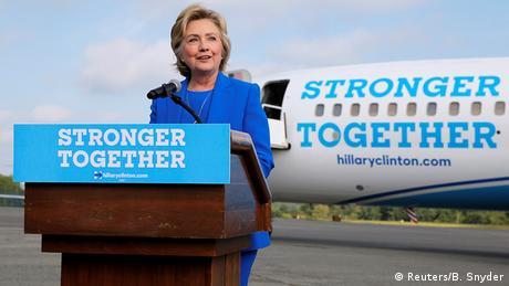 USA Wahlkampf Demokraten Hillary Clinton (Reuters/B. Snyder)