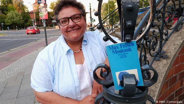 DW-Producerin Manuela Feria Perez (Foto: DW/A. Cizmecioglu )