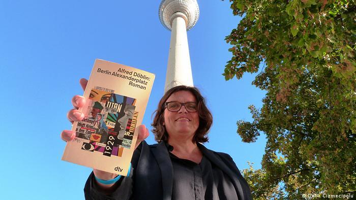 DW-Redakteurin Sabine Kieselbach (Foto: DW/A. Cizmecioglu )