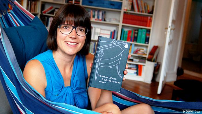 DW-Redakteurin Ricarda Otte (Foto: DW/H. Otte)