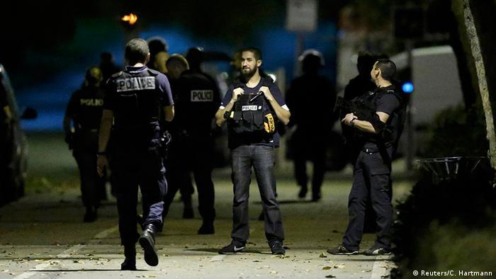 Frankreich Polizeirazzia in Boussy-Saint-Antoine
