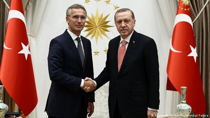 Türkei Präsident Erdogan mit NATO-Generalsekretär Stoltenberg