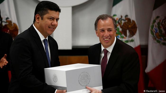 Mexiko Finanzminister Jose Antonio Meade