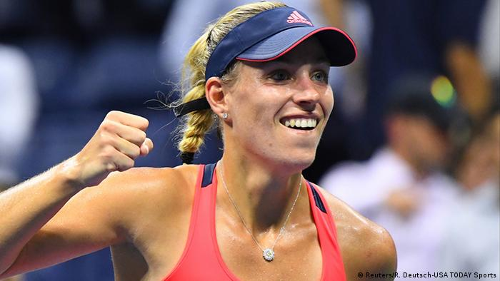 US Open 2016 - Angelique Kerber jubelt