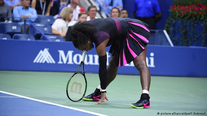 Serena Williams US Open 2016 (picture-alliance/dpa/C.Dubreuil)