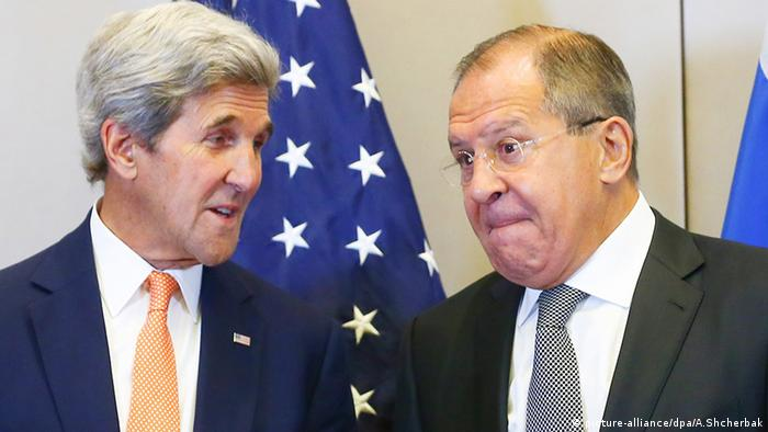 John Kerry Sergei Lavrov (picture-alliance/dpa/A.Shcherbak)