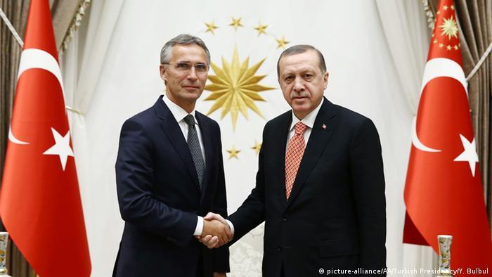 Recep Tayyip Erdogan ve NATO Genel Sekreteri Jens Stoltenberg