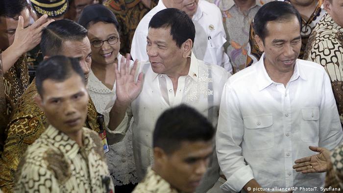 Indonesien Philippinen Duterte bei Jokowi