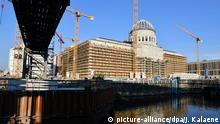 Berlin Baustelle vom Stadtschloss