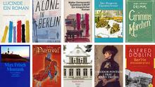 Bildkombo Buchcover der Lieblingsbücher der DW-Kulturredaktion (Copyright: DW)