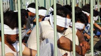 Iran Afghaner - Festgenommene Afghaner in Shiraz (ISNA)