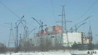 Брошенные блоки Чернобыльской АЭС