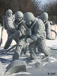 Tschernobyl - Denkmal für die Feuerwehr
