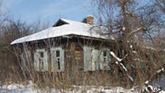 Abandoned house in Pripyat, Ukraine