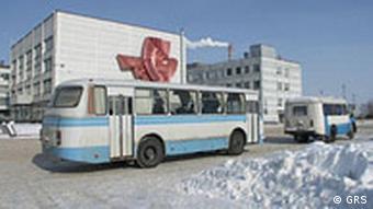 Tschernobyl - AKW - Zubringerbusse