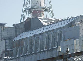 El ajado ''sarcófago'' de Chernóbil.