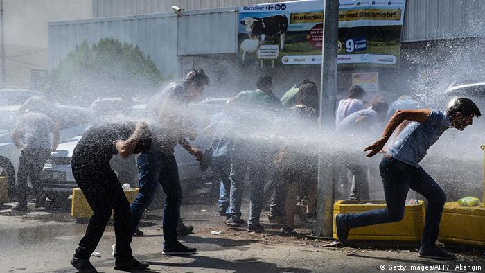 Türkei Diyarbakir Lehrerproteste