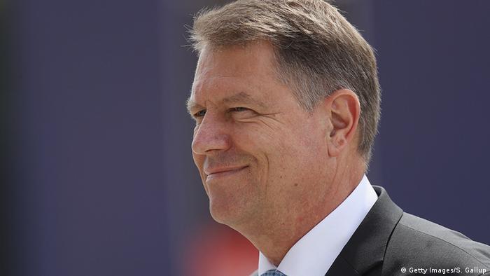 Polen Warschau Klaus Johannis, Präsident Rumänien (Getty Images/S. Gallup)