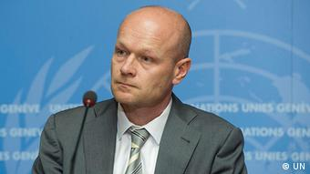 Jens Laerke - Sprecher des UN Office for the Coordination of Humanitarian Affairs OCHA (UN)