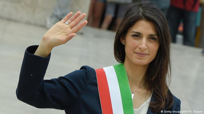 Rom Virginia Raggi Bürgermeisterin (Getty Images/AFP/A. Solaro)
