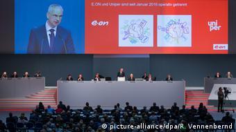 Собрание акционеров концерна E.on в 2016 году
