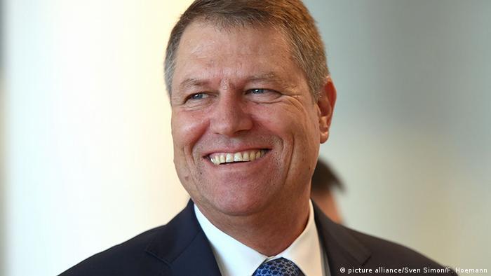 Klaus Johannis, Präsident Rumänien (picture alliance/Sven Simon/F. Hoemann)