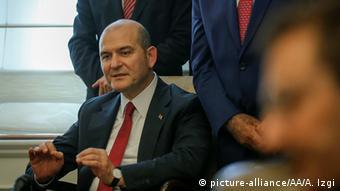 Türkei Ankara Innenminister Süleyman Soylu