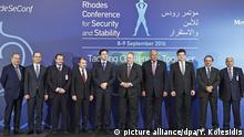 Griechenland Rhodos Conference for Security and Stability