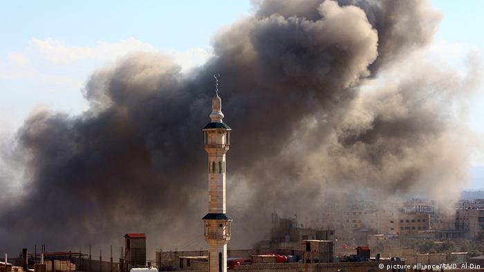 Syrien Russische Luftangriff