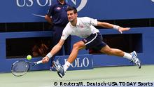 US Open Tennis Novak Djokovic