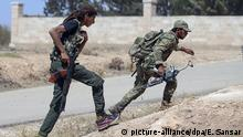 Syrien Aleppo Free Syrian Army