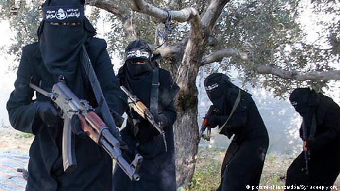 Kobiety także aktywnie walczyły w szeregach tzw. Państwa Islamskiego