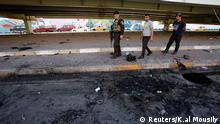 Irak Selbstmordanschlag Autobombe Baghdad