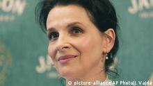 Ungarn Lillaufured - Juliette Binoche, französische Schauspielerin (picture-alliance/AP Photo/J. Vajda)