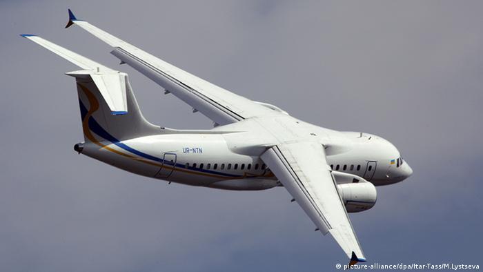 Antonov An 158 Flugzeug Russland Moskau