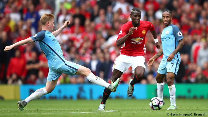 Großbritannien Manchester - Fussball Premier League - Manchester City vs Manchester United (Getty Images/C. Brunskill)
