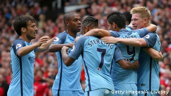 Großbritannien Manchester - Fussball Premier League - Manchester City vs Manchester United (Getty Images/A. Livesey)