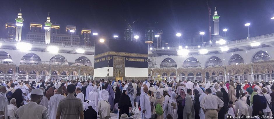 Peregrinação à meca: no mundo, existem 1,6 bilhão de muçulmanos