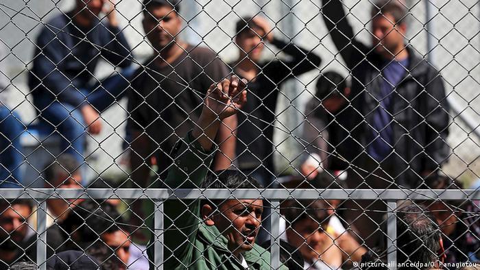 Griechenland Flüchtlingsunterkünfte
