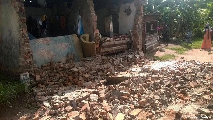 Afrika Erdbeben in Tansania