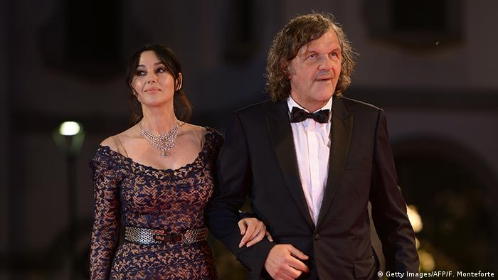Monica Bellucci and Emir Kusturica in Venice, Copyright: picture-alliance