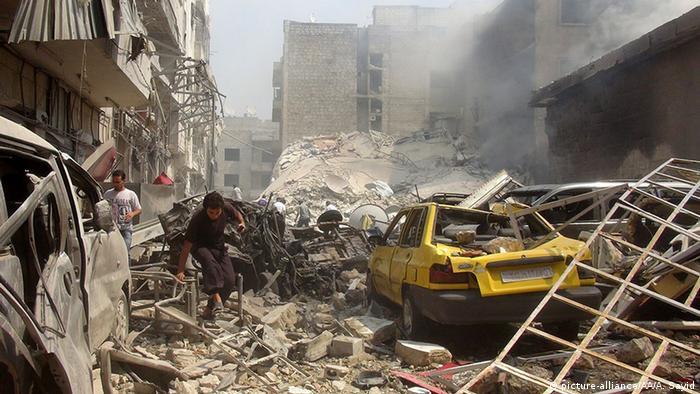 Разрушения в провинции Идлиб (фото из архива)