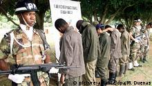 Kolumbien Verhaftung FARC Kämpfer Minderjährige Kindersoldaten