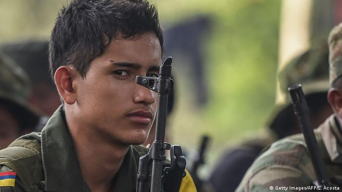 Kolumbien FARC Kämpfer
