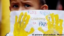 Kolumbien FARC Symbolbild Kinder Frieden