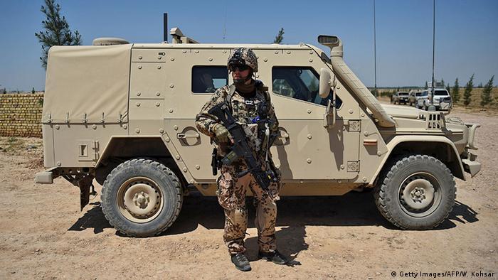 Afghanistan Mazar-i-Sharif Bundeswehr NATO Resolute Support Mission Soldat