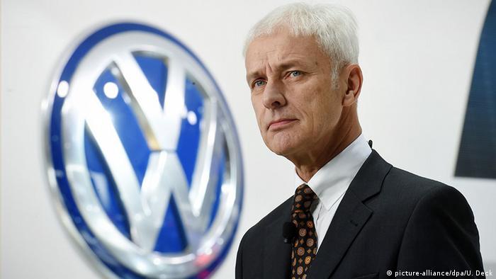 Matthias Müller Vorstandsvorsitzender der Volkswagen AG (picture-alliance/dpa/U. Deck)