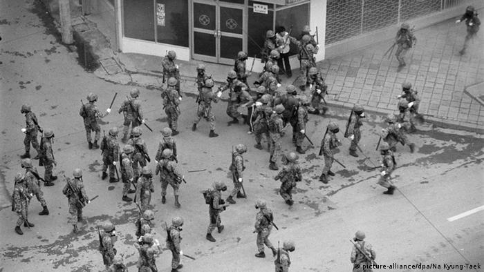 May 1980 uprising in Gwangju