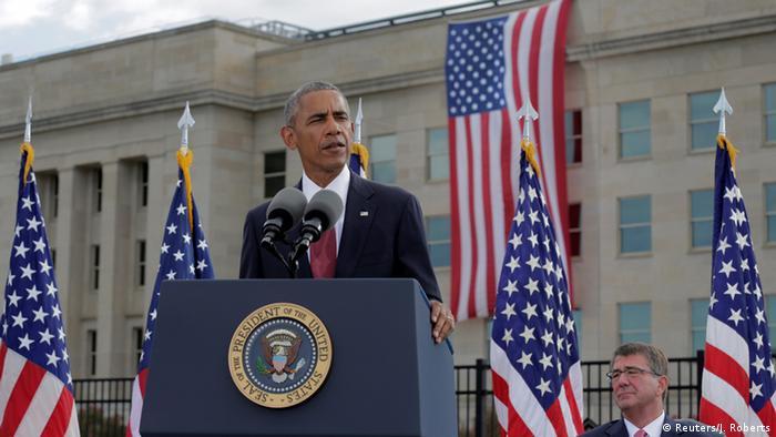 Выступление Барака Обамы в честь 15-й годовщины терактов в Нью-Йорке и Вашингтоне