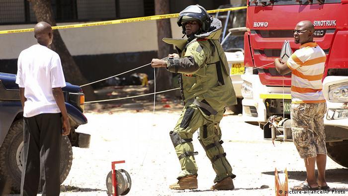 Kenia Mombasa Angriff auf Polizeistation